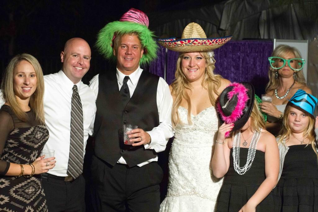 photograph of Wedding reception fun
